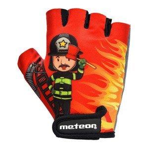 Dětské cyklistické rukavice Meteor vel. S