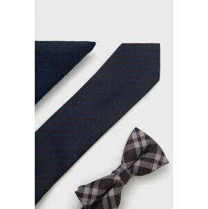 Jack & Jones - Sada kravaty, motýlka a kapesníčku