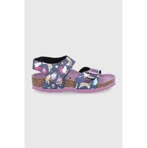Birkenstock - Dětské kožené sandály Colorado