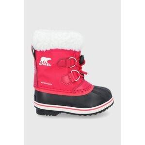 Sorel - Dětské sněhule Yoot Pac Nylon