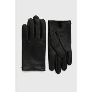 Boss - Kožené rukavice Boss Casual