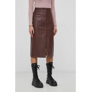 Y.A.S - Kožená sukně
