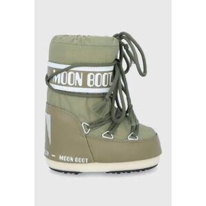 Moon Boot - Dětské sněhule Classic Nylon