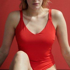 Reserved - Plážové plavky - Červená