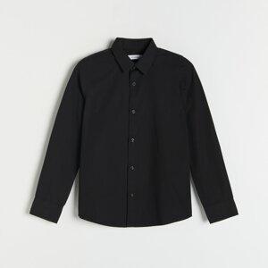 Reserved - Boys` shirt - Černý