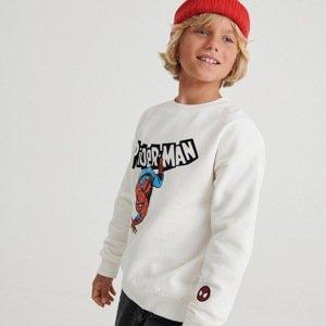 Reserved - Boys` sweatshirt - Krémová