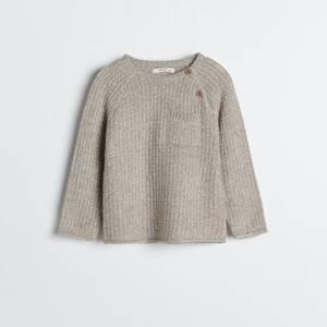 Reserved - Babies` sweater - Oranžová