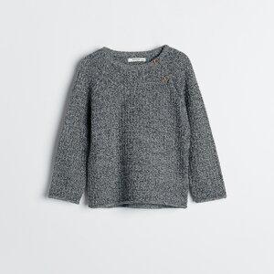 Reserved - Babies` sweater - Šedá