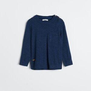 Reserved - Boys` sweater - Tmavomodrá