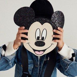 Reserved - Kabelka Mickey Mouse - Černý