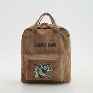 Reserved - Plátěný batoh Jurassic Park - Béžová
