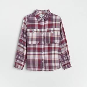 Reserved - Kostkovaná košile - Vícebarevná