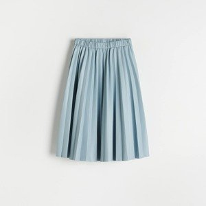 Reserved - Skládaná sukně - Modrá