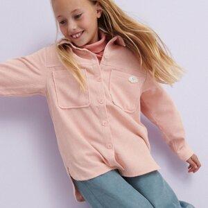 Reserved - Košile s aplikací - Růžová