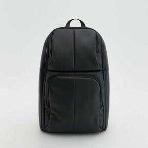 Reserved - Elegantní koženkový batoh - Černý