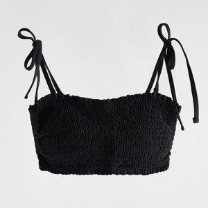 Reserved - Plážový top - Černý