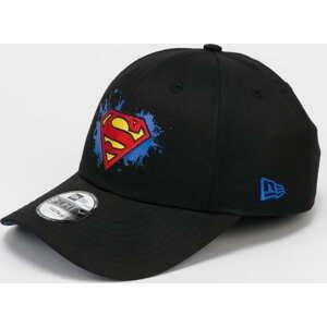 New Era 940K Character Splat Superman černá / modrá