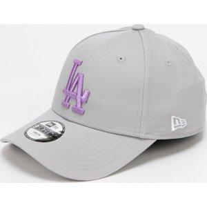 New Era 940K MLB Chyt League Essential LA šedá / fialová