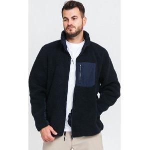 Urban Classics Sherpa Jacket navy
