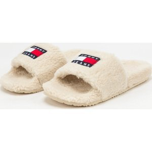 TOMMY JEANS Flag Pool Slide smooth stone