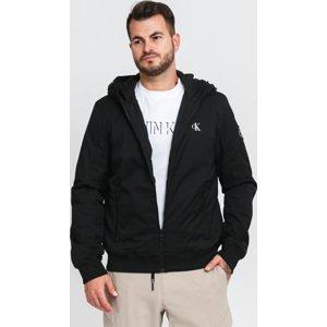CALVIN KEIN JEANS Hooded Padded Jacket černá