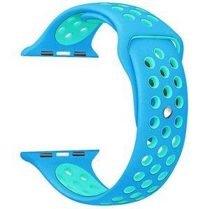 4wrist Silikonový řemínek pro Apple Watch - Modrá/Tyrkysová 38/40 mm