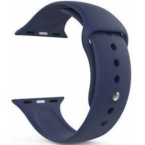 4wrist Silikonový řemínek pro Apple Watch - Tmavě modrý 42/44 mm - S/M