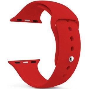 4wrist Silikonový řemínek pro Apple Watch - Červený 42/44 mm - S/M
