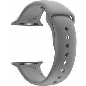 4wrist Silikonový řemínek pro Apple Watch - Šedý 38/40 mm - S/M