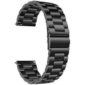 4wrist Ocelový tah - Černý 20 mm