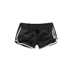 BENCH Plavecké šortky  černá / bílá