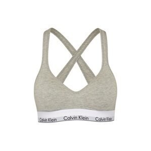 Calvin Klein Underwear Podprsenka 'Lift'  šedý melír