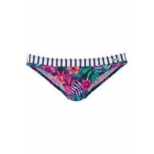 VENICE BEACH Spodní díl plavek 'Summer'  námořnická modř / mix barev