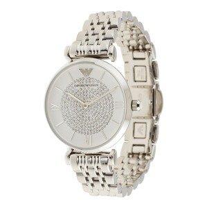 Emporio Armani Analogové hodinky  stříbrná