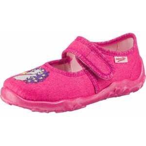 SUPERFIT Pantofle 'Bonny'  bílá / světle fialová / pink