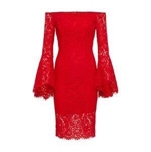 Bardot Koktejlové šaty 'Solange'  červená
