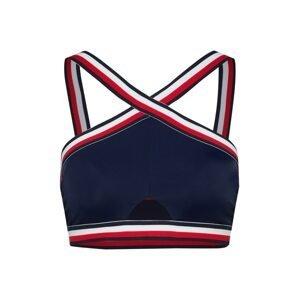 Tommy Hilfiger Underwear Horní díl plavek 'CROP RP'  námořnická modř