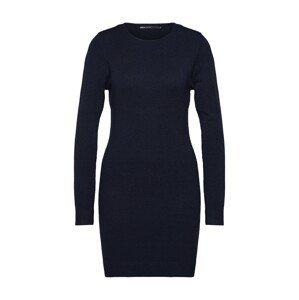 ONLY Úpletové šaty  noční modrá
