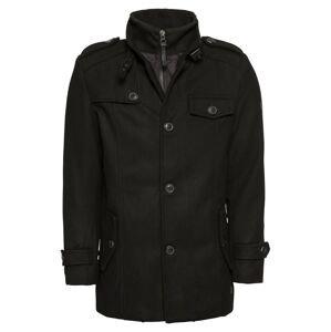 INDICODE JEANS Přechodný kabát 'Brendan'  černá