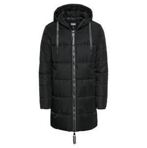 Urban Classics Zimní kabát  černá
