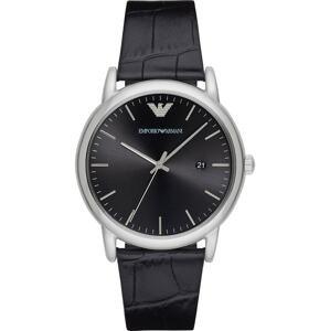 Emporio Armani Analogové hodinky 'AR2500'  černá / stříbrná