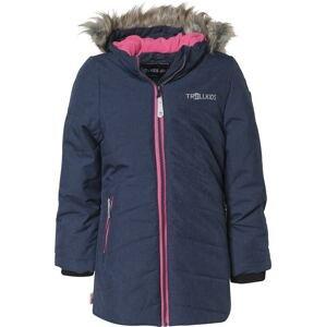 TROLLKIDS Outdoorová bunda 'Lifjell'  svítivě růžová / námořnická modř