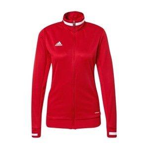 ADIDAS PERFORMANCE Sportovní bunda 'Team 19'  červená / bílá