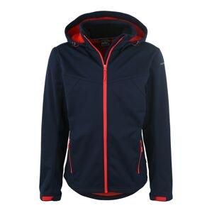 ICEPEAK Outdoorová bunda 'Lukas'  námořnická modř / světle červená