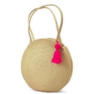 LASCANA Plážová taška  písková