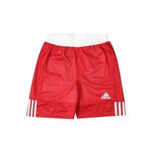 ADIDAS PERFORMANCE Sportovní kalhoty '3G Speed Reversible'  bílá / červená