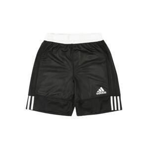 ADIDAS PERFORMANCE Sportovní kalhoty '3G Speed Reversible'  bílá / černá