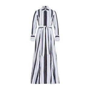 IVY & OAK Košilové šaty  safírová / černá / bílá