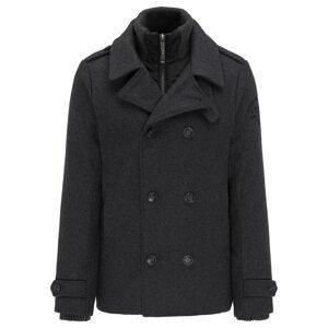 Petrol Industries Zimní kabát  čedičová šedá