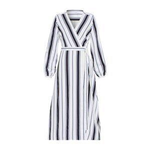 IVY & OAK Šaty  černá / bílá / tmavě modrá